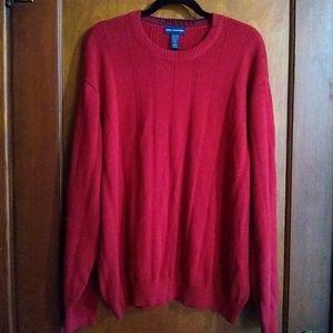 John Ashford Knitted Crew Neck Pullover Sweater